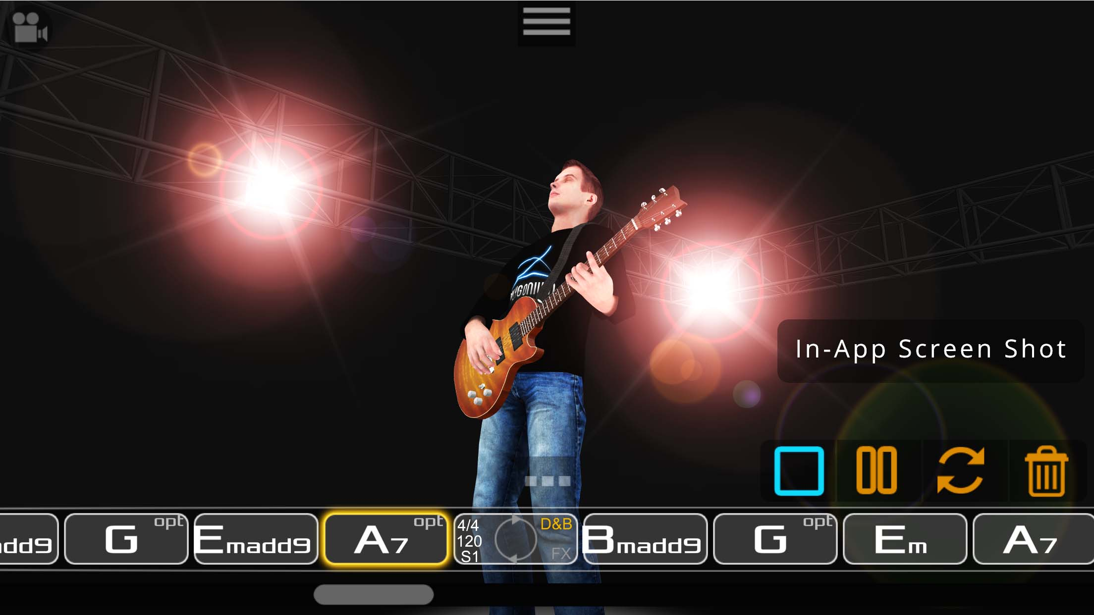 Final Guitar 3D Chord Play Mode