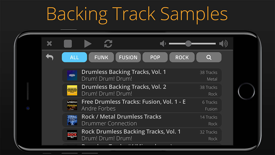 Flexy Drums App for iOS – Polygonium