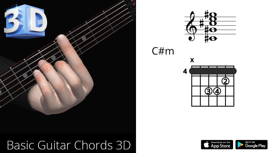 Guitar3D C#m