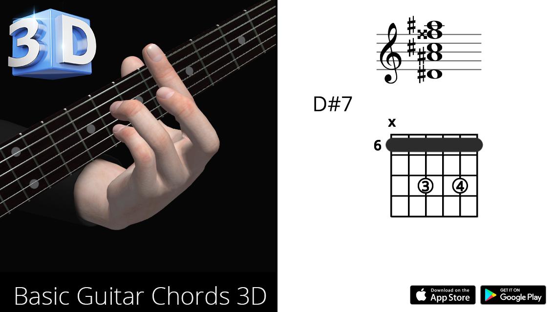 Guitar3D D#7