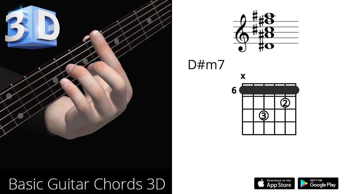 Guitar3D D#m7