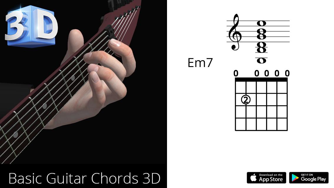 Guitar3D Em7
