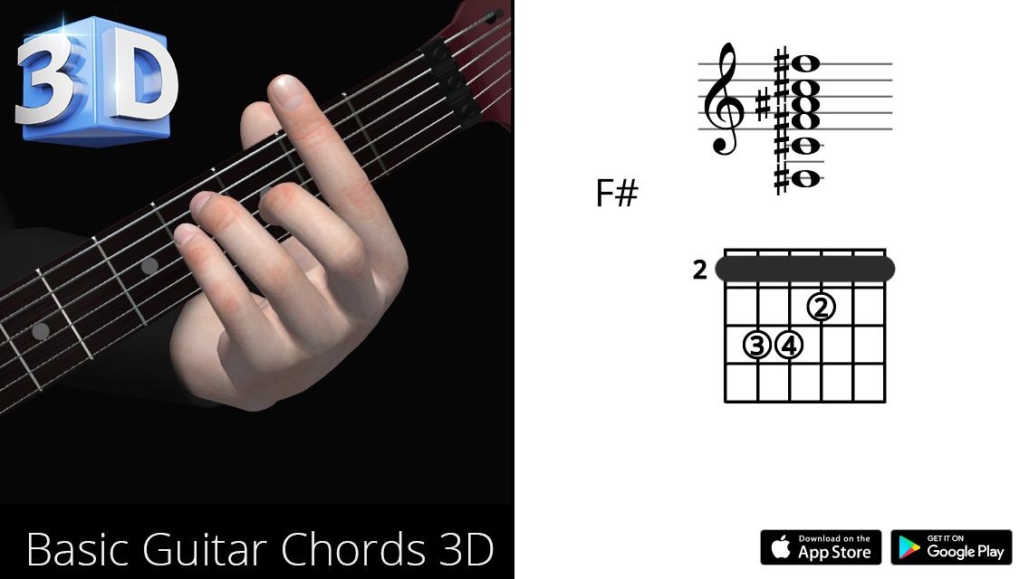 Guitar3D F#