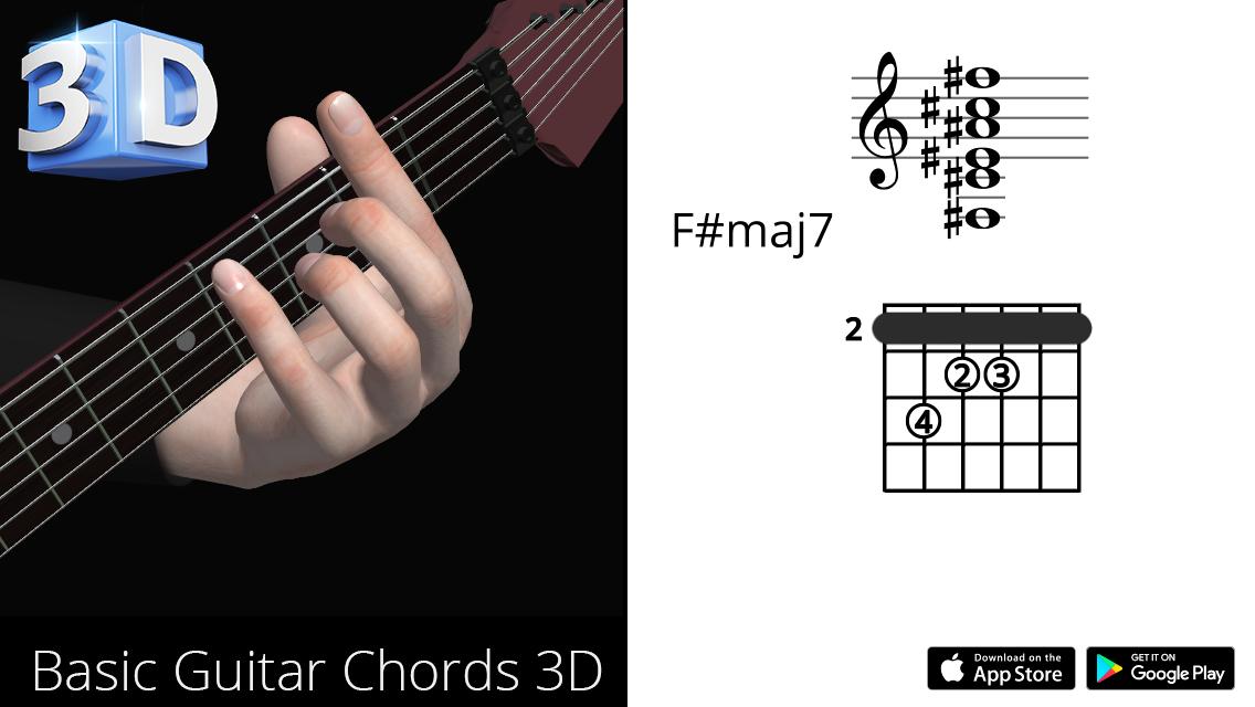 Guitar3D F#maj7
