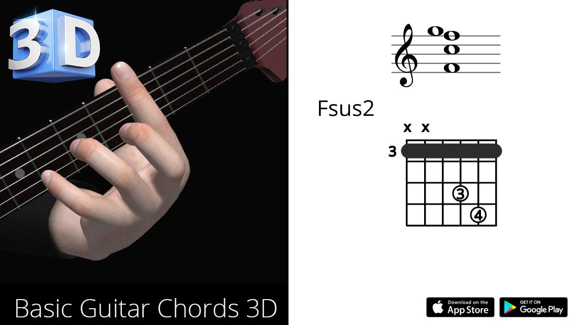 Guitar3D Fsus2