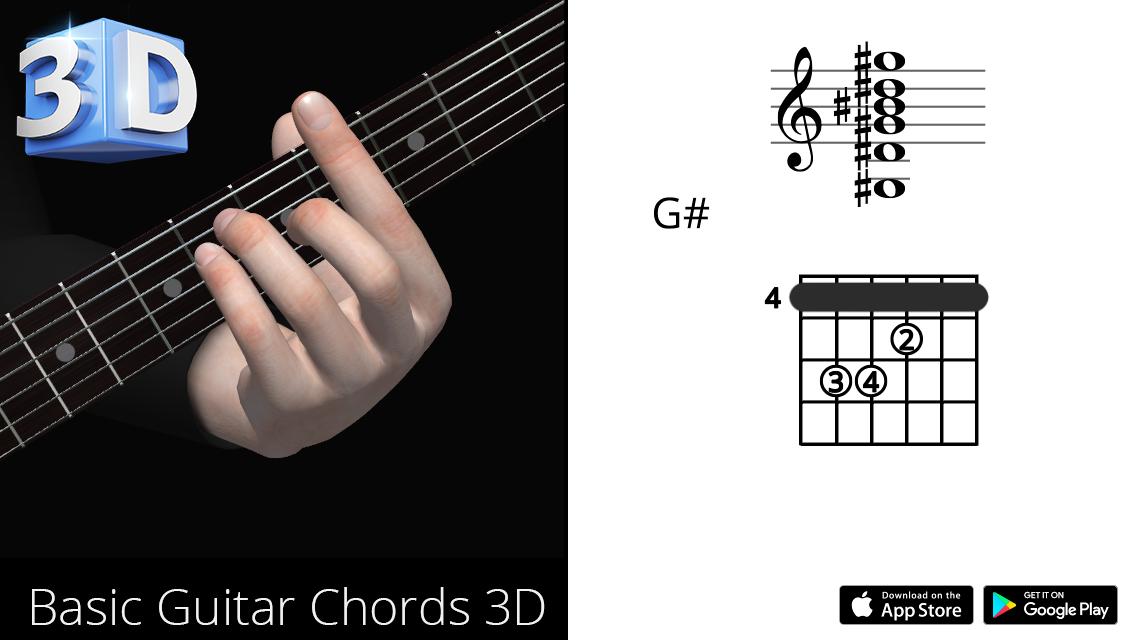 Guitar3D G#