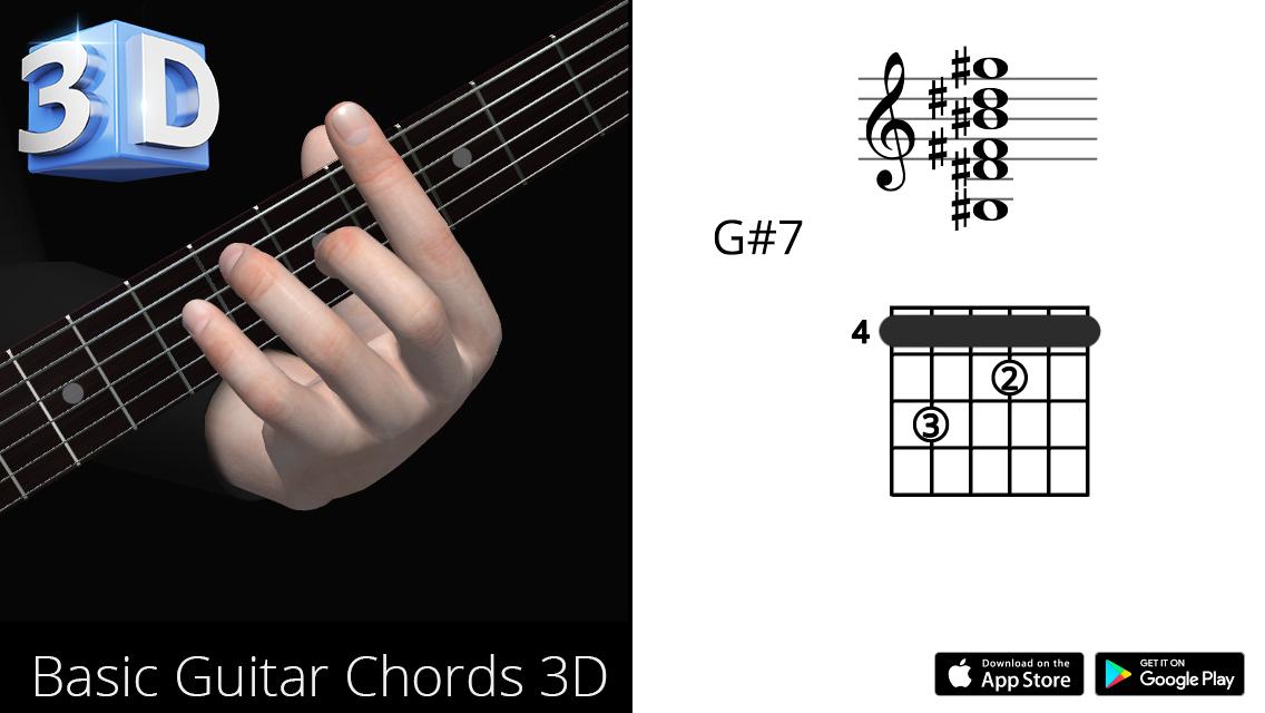 Guitar3D G#7