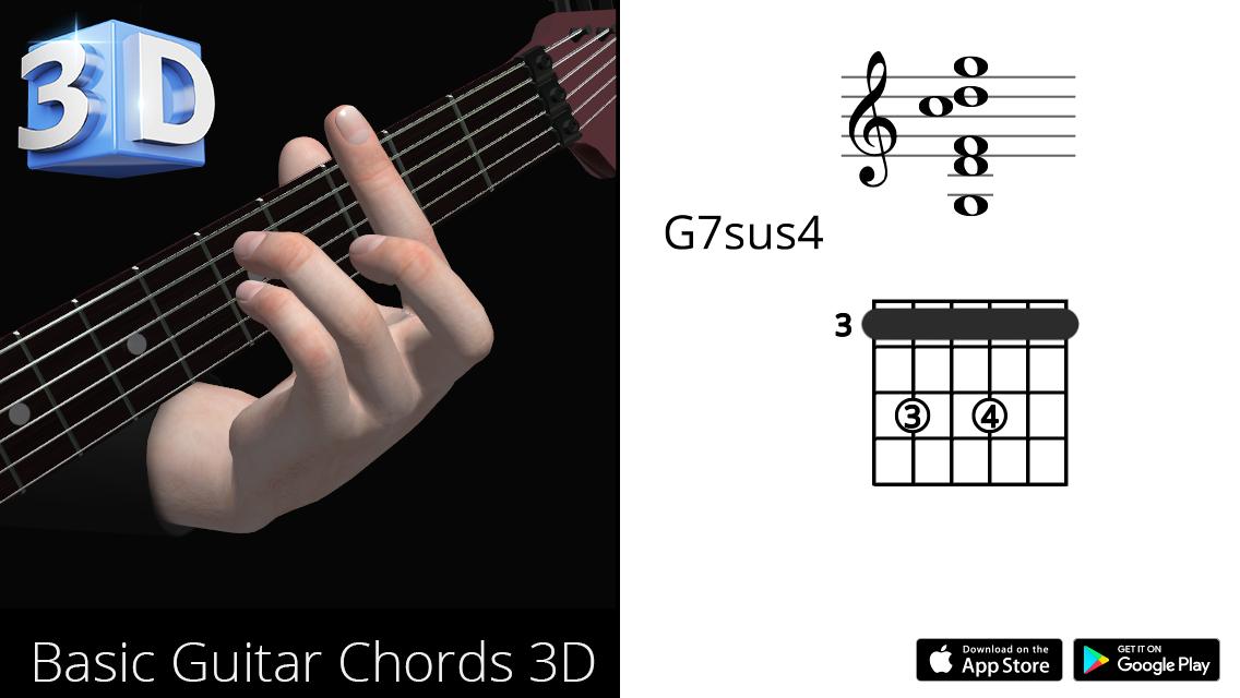 Guitar3D G7sus4