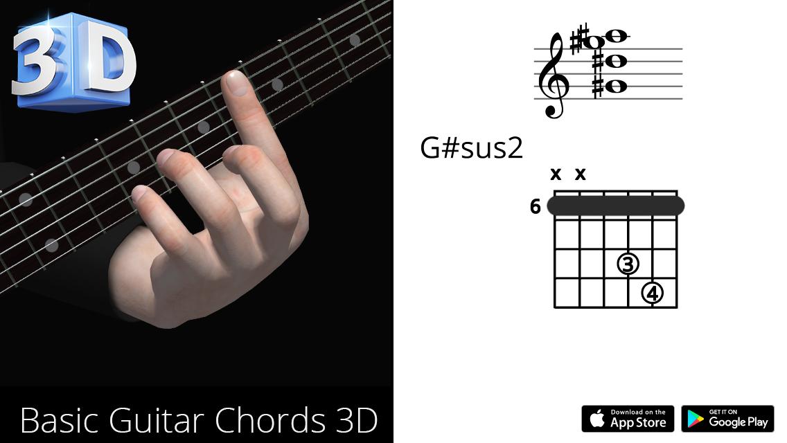 Guitar3D G#sus2
