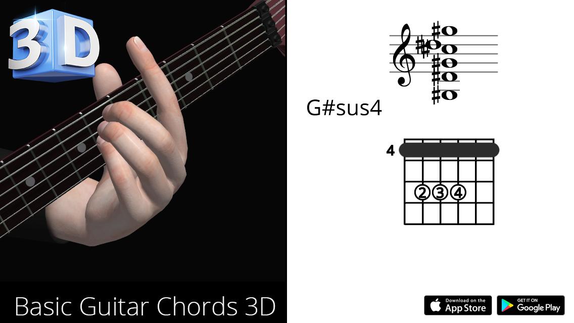 Guitar3D G#sus4